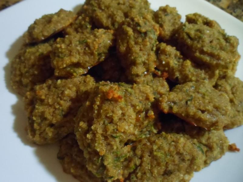 Gluten Free Zucchini Bread Cookies