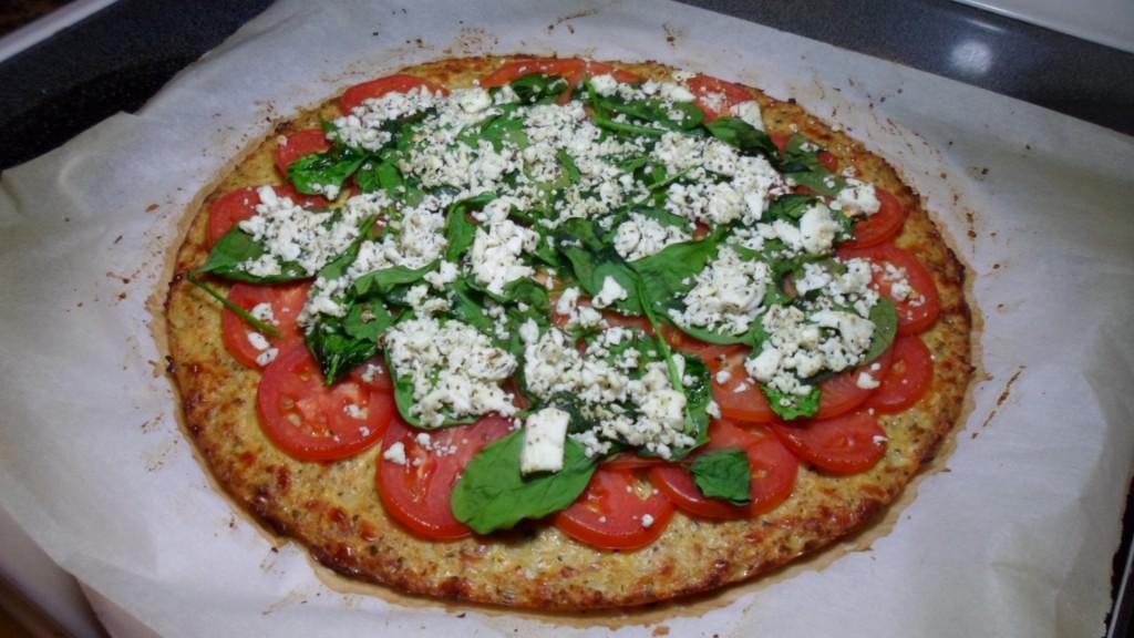 Healthy Gluten Free Cauliflower Pizza Crust