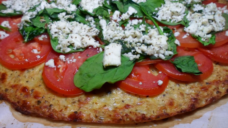 Healthy Gluten Free Cauliflower Pizza Crust