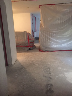 This is what the downstairs of my house looked like for a few weeks