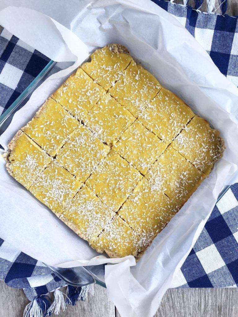 Gluten Free Mango Squares Recipe