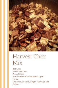 Harvest Chex Mix Ingredients