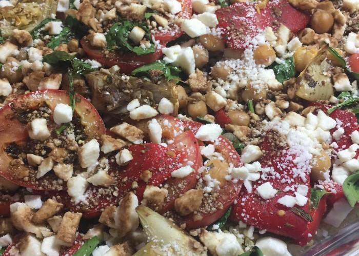 Mediterranean Quinoa Bake