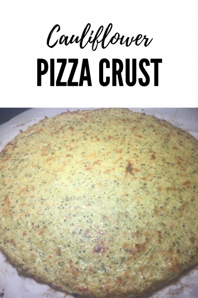 Cauliflower Pizza Crust