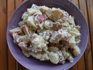 Healthier Redskin Potato Salad