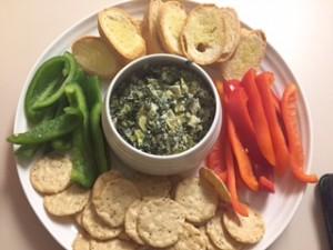 Easy Healthy Spinach Artichoke Dip Recipe