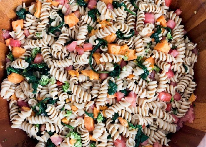 Easy and Healthy Pasta Salad