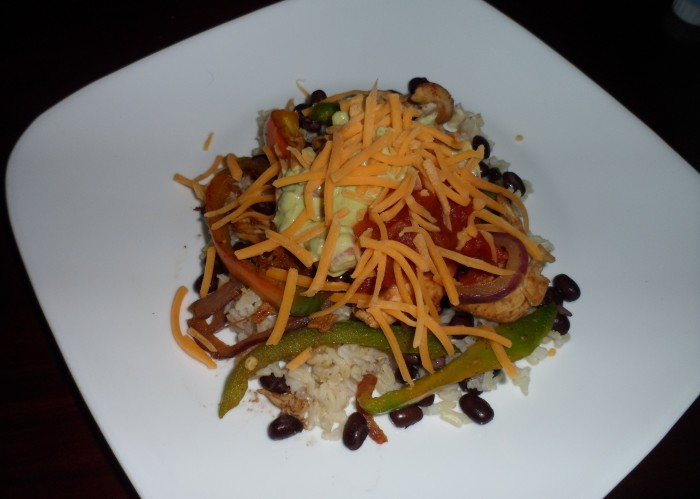 Chicken Fajita Bowl 011