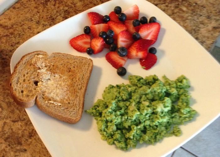 Green Eggs Breakfast