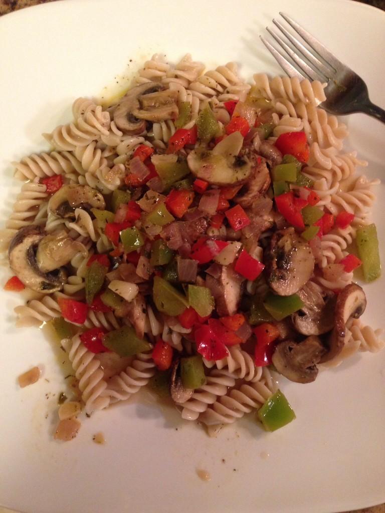 Whole Grain Vegetable Pasta